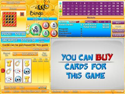 Bingo Beez Lobby