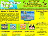 Premier Bingo Lobby