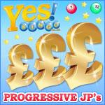 Yes Bingo players say yes to huge progressive jackpots